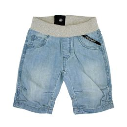 Villervalla Pitkät Shortsit Soft Denim Light Wash