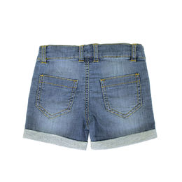 Farkkushortsit sweat denim washed ink