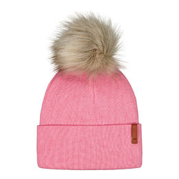 Metsola Folded Beanie Fur Rosewater